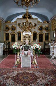 Церковь Покрова Пресвятой Богородицы, иконостас, XIX век